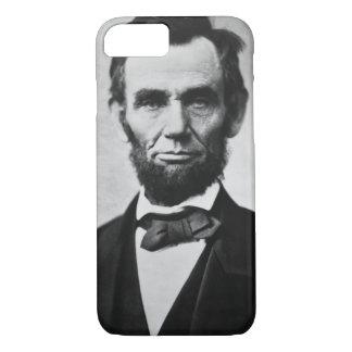 エイブラハム・リンカーンのポートレート iPhone 8/7ケース