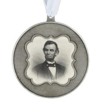 エイブラハム・リンカーンのヴィンテージのポートレート オーナメント
