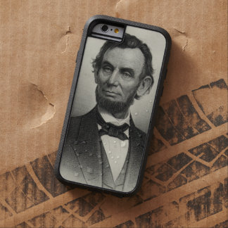 エイブラハム・リンカーンのヴィンテージのポートレート TOUGH XTREME iPhone 6 ケース