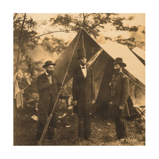 エイブラハム・リンカーンの内戦 ウッドウォールアート