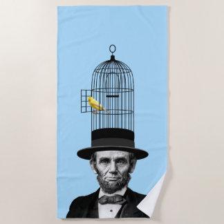エイブラハム・リンカーンの大統領のなファッションの上での主張 ビーチタオル