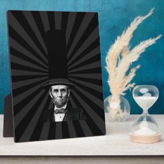 エイブラハム・リンカーンの大統領のなファッションの上での主張 フォトプラーク