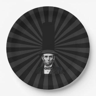 エイブラハム・リンカーンの大統領のなファッションの上での主張 ペーパープレート