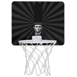 エイブラハム・リンカーンの大統領のなファッションの上での主張 ミニバスケットボールゴール