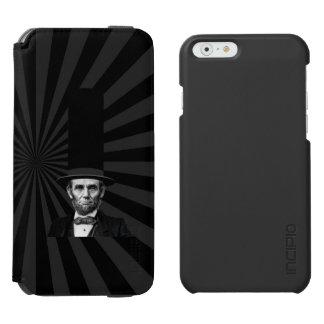 エイブラハム・リンカーンの大統領のなファッションの上での主張 INCIPIO WATSON™ iPhone 6 ウォレットケース