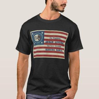 エイブラハム・リンカーンの大統領職のキャンペーン旗の旗 Tシャツ