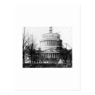 エイブラハム・リンカーンの就任演説、1861年3月4日 ポストカード