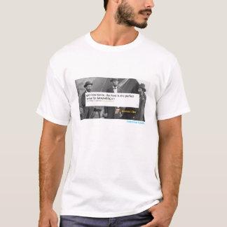 エイブラハム・リンカーンの歴史的さえずりワイシャツ Tシャツ
