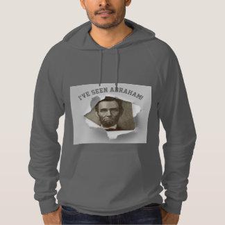エイブラハム・リンカーンの第50誕生日のおもしろいなフード付きスウェットシャツを見ること パーカ