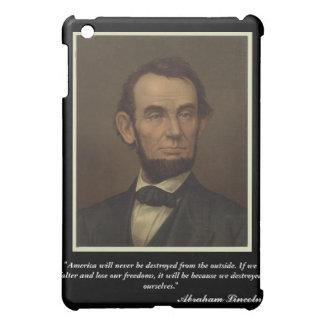 エイブラハム・リンカーンのiPadの場合 iPad Mini カバー
