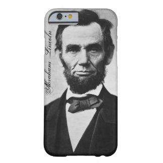 エイブラハム・リンカーンのiPhone 6の場合 Barely There iPhone 6 ケース