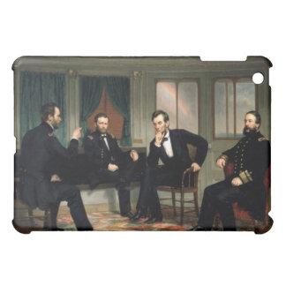 エイブラハム・リンカーンを持つ調印者 iPad MINIカバー