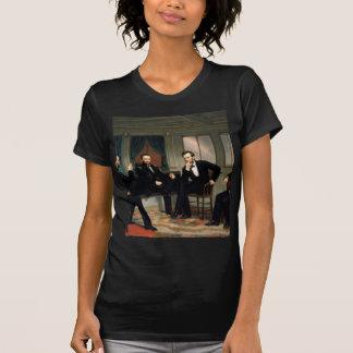 エイブラハム・リンカーンを持つ調印者 Tシャツ