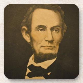 エイブラハム・リンカーン大統領のヴィンテージの刻むこと コースター