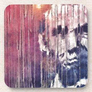 エイブラハム・リンカーン大統領の抽象芸術 コースター