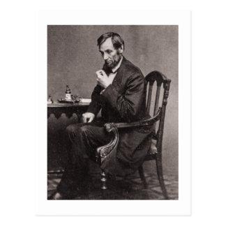 エイブラハム・リンカーン大統領1862 STEREOVIEW はがき