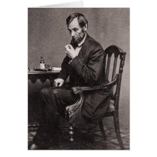 エイブラハム・リンカーン大統領1862 STEREOVIEW カード