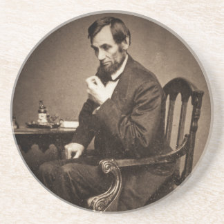 エイブラハム・リンカーン大統領1862 STEREOVIEW コースター