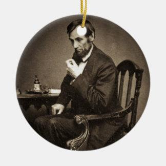 エイブラハム・リンカーン大統領1862 STEREOVIEW セラミックオーナメント