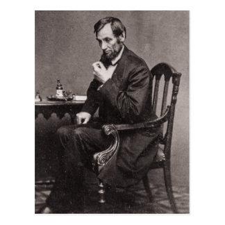 エイブラハム・リンカーン大統領1862 STEREOVIEW ポストカード