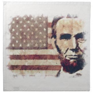 エイブラハム・リンカーン愛国者の大統領 ナプキンクロス