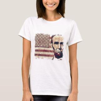 エイブラハム・リンカーン愛国者の大統領 Tシャツ