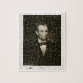 、エイブラハム・リンカーン統一されたなStatの第16大統領 ジグソーパズル
