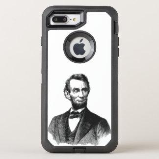 """エイブラハム・リンカーン1865年""""すばらしいemancipator """" オッターボックスディフェンダーiPhone 8 plus/7 plusケース"""