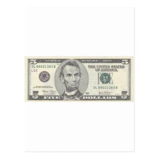 エイブラハム・リンカーン9 ポストカード