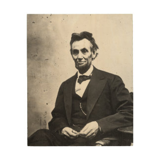 エイブラハム・リンカーン ウッドウォールアート