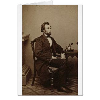 エイブラハム・リンカーン カード