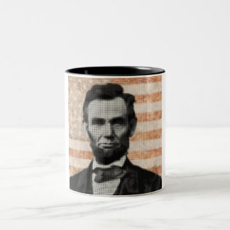 エイブラハム・リンカーン ツートーンマグカップ
