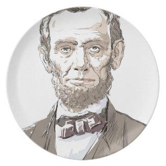 エイブラハム・リンカーン プレート