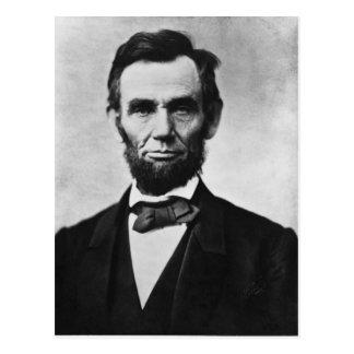 エイブラハム・リンカーン ポストカード