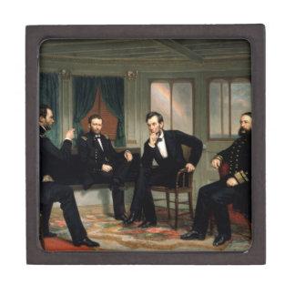 """エイブラハム・リンカーン""""調印者""""のギフト用の箱 ギフトボックス"""