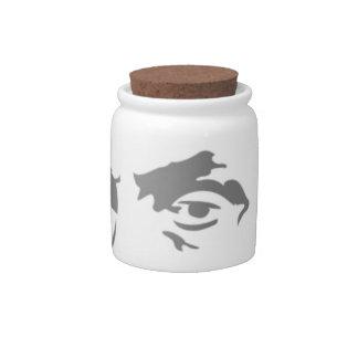 エイブラハム・リンカーン 陶器製キャンディジャー