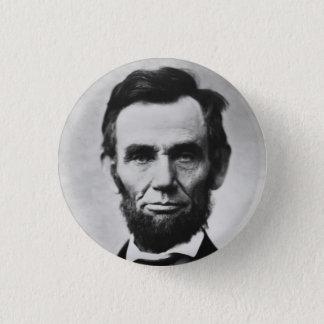 エイブラハム・リンカーン 3.2CM 丸型バッジ