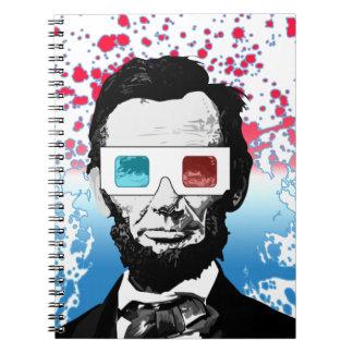 エイブラハム・リンカーン- 3D ノートブック