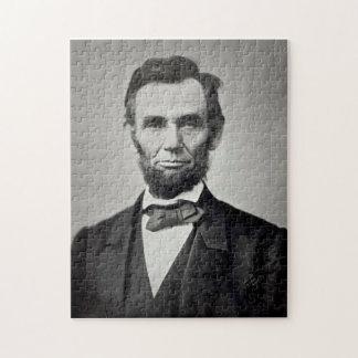 エイブラハム・リンカーンGettysburgのポートレート ジグソーパズル