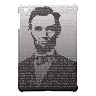 エイブラハム・リンカーンGettysburgの住所 iPad Miniカバー