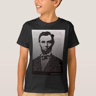 エイブラハム・リンカーンGettysburgの住所 Tシャツ