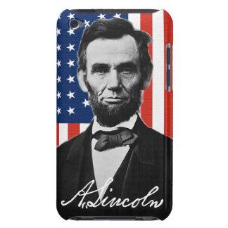 エイブラハム・リンカーンipod touchの例 Case-Mate iPod touch ケース