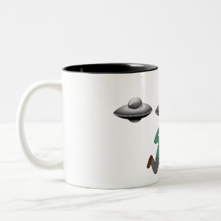 エイリアンの外転のマグ ツートーンマグカップ