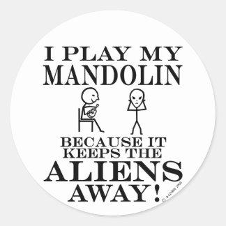 エイリアンの遠くになマンドリンを保ちます ラウンドシール