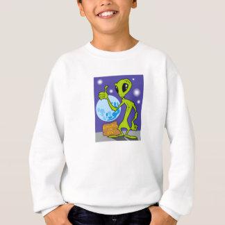 エイリアンをハイキングする連結器 スウェットシャツ