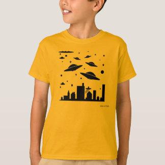 エイリアン及びUFOs 47 Tシャツ