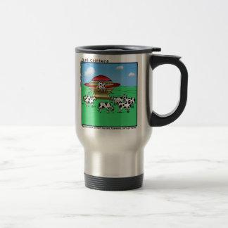 エイリアン牛 トラベルマグ
