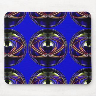 エイリアン私の抽象的で芸術的なデザイン マウスパッド