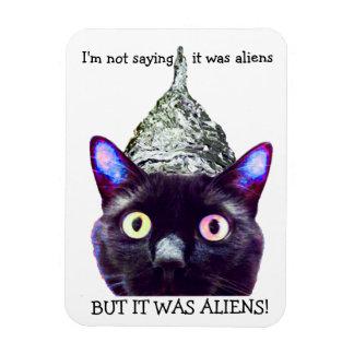 エイリアン! 猫の磁石 マグネット