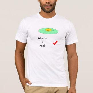 エイリアンRは実在します Tシャツ